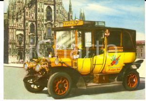 1960 ca MILANO AMARO RAMAZZOTTI Auto pubblicitaria del 1905 *Cartolina FG