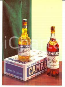 1950 ca CAMPARI S.A. LUGANO *Cartolina pubblicitaria BITTER e CORDIAL FG NV