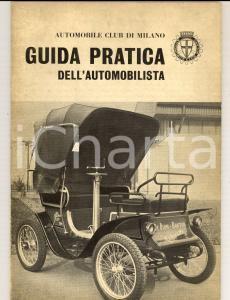 1963 Automobile Club MILANO Guida pratica automobilistica ILLUSTRATA 64 pp.