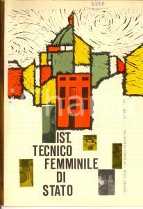 1970 ca MILANO Via COSTA Istituto Tecnico Femminile di Stato *Pubblicitario