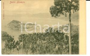 1900 ca SESTRI LEVANTE (GE) Veduta panoramica dall'alto *Cartolina FP NV