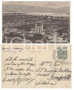 1907 SASSO MARCONI (BO) Panorama *Cartolina arciprete don Giuseppe CAVALIERI