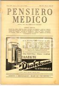 1936 PENSIERO MEDICO Studio dei versamenti pleurici *Rivista anno XXV n° 3