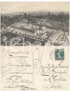1912 RIVALTA CANAVESE Noviciat Frères Ecoles Chrétiennes *Carte fr. PAUL ANTONIN