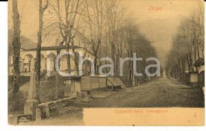 1900 ca OROPA (BI) Cappella della Concezione *Cartolina VINTAGE FP VG