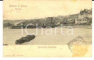 1900 ca POZZUOLI (NA) Veduta dello Stabilimento ARMSTRONG *Cartolina FP VG