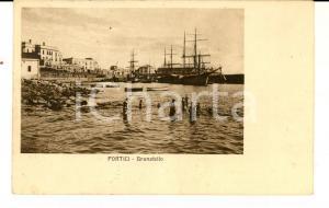1922 PORTICI (NA) Granatello *Cartolina ANIMATA ragazzi al bagno FP VG