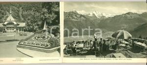 1950 ca BERNER OBERLAND 55 Photos *Album illustrato TURISMO VINTAGE