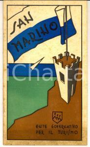 1950 ca REPUBBLICA DI SAN MARINO *Libretto Ente Governativo TURISMO pp. 28