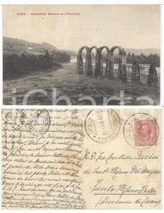 1915 ACQUI TERME Acquedotto *Cartolina Paola BECCARIA INCISA DI S. STEFANO