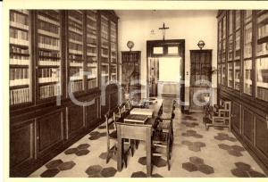 1930 ca NIZZA MONFERRATO (AT) Istituto N.S. delle Grazie - Biblioteca *Cartolina
