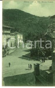 1927 CERES (TO) Veduta della piazza centrale *Cartolina ANIMATA FP VG