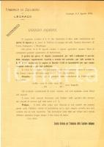 1918 LEGNAGO (VR) Fabbrica di Zucchero - Lettera per ritiro delle barbabietole
