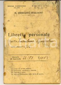 1933 SANTA CROCE CAMERINO 7^ Compagnia SANITA' Libretto Guglielmo IUCULANO