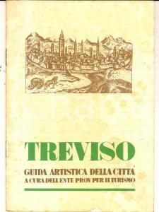 1950 ca ENIT TREVISO Guida artistica della città *TURISMO VINTAGE pp. 20