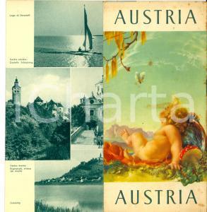 1950 ca AUSTRIA Idillio di vacanze *Libretto ILLUSTRATO TURISMO VINTAGE pp. 64