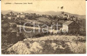 1927 LERMA (AL) Panorama dal lato Nord *Cartolina postale FP VG