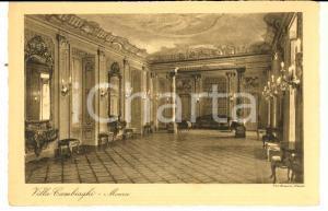 1930 ca MONZA VILLA CAMBIAGHI - Sala dei ricevimenti *Cartolina postale FP NV