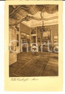 1930 ca MONZA VILLA CAMBIAGHI - Un salottino privato  *Cartolina postale FP NV