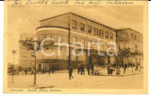 1945 CATANZARO Grande Albergo Moderno *Cartolina ANIMATA FP VG