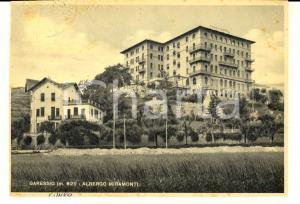 1940 GARESSIO (CN) Albergo MIRAMONTI *Cartolina a Pier Alfonso VECCHIA da amico