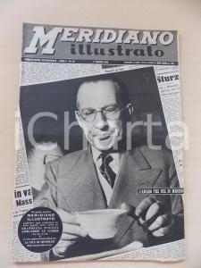 1952 MERIDIANO ILLUSTRATO Adesione al PCI di padre Alighiero TONDI *Anno I n° 22