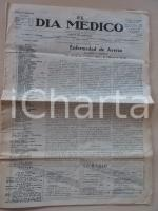 1930 BUENOS AIRES EL DIA MEDICO Enfermedad de AYERZA cardiacos negros *Periodico
