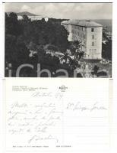 1959 CELLE LIGURE Colonia Milanese *Cartolina presidente Carlo BASLINI Autografa