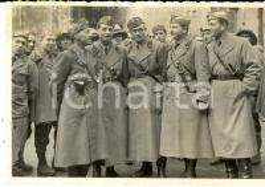 1936 NAPOLI Ufficiali in partenza per l'Africa cav. DE PRISCO - MANCINI CIACCIA