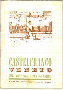 1965 ENIT CASTELFRANCO VENETO (TV) Guida della città *ILLUSTRATA VINTAGE pp. 50
