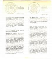 1961 Farmaceutica ZAMBON in possesso di NEW DRUG APPLICATION *Pubblicitario