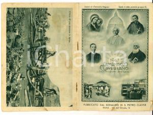1947 ROMA Almanacco CLAVERIANO pro missioni africane ILLUSTRATO 30 pp.