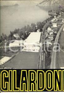 1961 MANDELLO LARIO Ditta GILARDONI Raggi X - Copertina pubblicitaria ILLUSTRATA