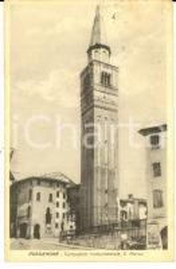 1927 PORDENONE Campanile monumentale SAN MARCO *Cartolina FP