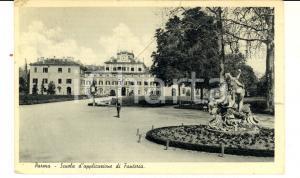 1936 PARMA Scuola d'applicazione di fanteria *Cartolina ANIMATA FP VG