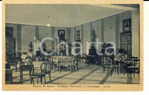 1939 LECCO / RANCIO Salone del collegio femminile S. GIUSEPPE *Cartolina FP NV