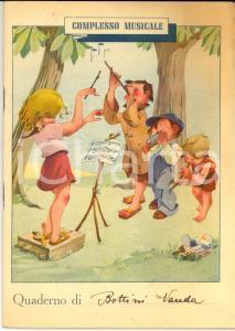 1949 ROVEGRO (VB) Quaderno V ELEMENTARE di Wanda BOTTINI - Lingua italiana