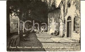 1955 FIUMALBO/ DOGANA NUOVA (MO) Oratorio delle Mandriole *Cartolina DANNEGGIATA