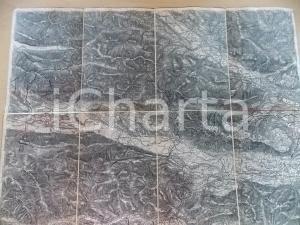 1906 R. LECHNER Karte OSTERREICH-UNGARN Zone 19 BLEIBERC und TARVIS 52x40 cm
