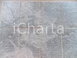 1906 R. LECHNER Karte OSTERREICH-UNGARN Zone 21 LAIBACH  52x40 cm