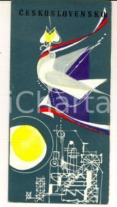 1961 TCHECOSLOVAQUIE d'aujourd'hui *Brochure ILLUSTREE VINTAGE 20 pages