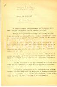 1952 Comando V Corpo d'Armata - OdG 7 - Morte del generale Umberto UTILI 4 pp.
