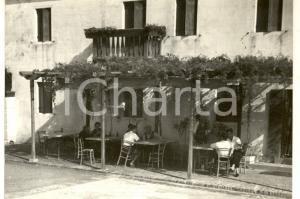 1953 VENEZIA Pranzo in un'osteria tradizionale *Foto ARTISTICA 11x7 cm