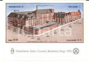 1970 ca BIELEFELD (D) Tabakfabrik Gebr. CRUWELL *VINTAGE postcard FG VG