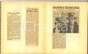 1939 TRIESTE Rassegna stampa lirica e cinema VERDI - ROSSETTI 26 pp. CURIOSO