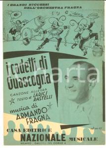 1949 Armando FRAGNA I cadetti di Guascogna - Canzone *Spartito ed. NAZIONALE