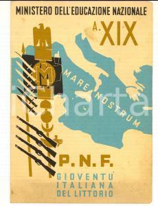 1941 TORINO GIL Pagella scuola elementare S. ANNA - Romano QUARANTA