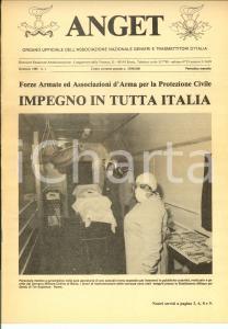 1986 ANGET Esercitazione TERNI '85 *Rivista Genieri e Trasmettitori n° 1