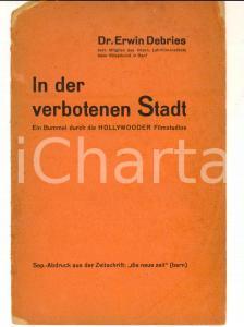1960 ca GENF Erwin DEBRIES In der verboten Stadt - Die HOLLYWOODER Filmstudios