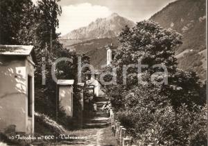 1957 INTROBIO (LC) Panorama con passanti in posa *Cartolina FG NV